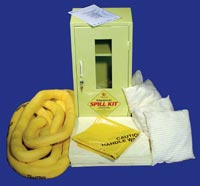 Chemical 40 Litre Wall Cabinet Spill Kit